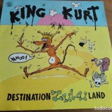 Discos de vinilo: KING KURT - DESTINATION ZULULAND ********** RARO MAXI ESPAÑOL 1984 GRAN ESTADO. Lote 221957215