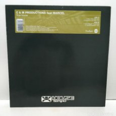 Discos de vinilo: C & M PRODUCTIONS ?– TRUE HOUSE - 1999. Lote 221959351
