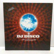 Discos de vinilo: DJ DISCO – DIRTY DISCO DUBS (STAMP YOUR FEET) - 1998. Lote 221959932