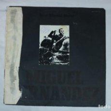 Discos de vinilo: JOAN MANUEL SERRAT MIGUEL HERNANDEZ D-SOLESP-422. Lote 221960647
