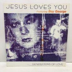 Discos de vinilo: JESUS LOVES YOU – GENERATIONS OF LOVE - 1998. Lote 221961238