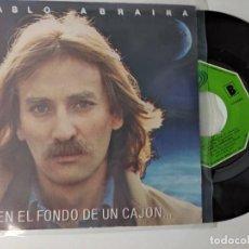 Discos de vinilo: PABLO ABRAIRA,EN EL FONDE DE UN CAJON,AÑO 1983. Lote 221963353