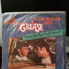 Discos de vinilo: JOHN TRAVOLTA / OLIVIA NEWTON-JOHN - GREASE: YOU'RE THE ONE THAT I WANT. Lote 221964308