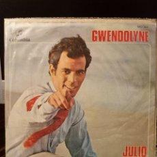Discos de vinilo: JULIO IGLESIAS - GWENDOLYNE. Lote 221964435