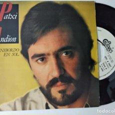 Discos de vinilo: PATXI ANDION, TRANSBORDO EN SOL (CBS 1983) SINGLE PROMOCIONAL 1 SOLA CARA - LUCIO DALLA. Lote 221965143