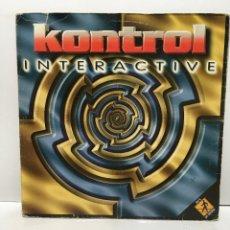 Discos de vinilo: KONTROL – INTERACTIVE - 1997. Lote 221965366