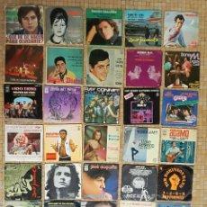 Discos de vinilo: LOTE 36 VINILOS LA MAYORIA CANTANTES ESPAÑOLES AÑOS 50-70 Y ALGUN GRUPO EXTRANJERO VER FOTOS. Lote 221965623
