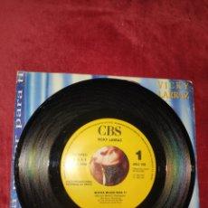 Discos de vinilo: VICKY LARRAZ - SINGLE UNA SOLA CARA PROMO - MUCHA MUJER PARA TI - VINILO. Lote 221965675