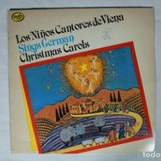 Discos de vinilo: LP - LOS NIÑOS CANTORES DE VIENA SINGS GERMAN CHRISTMAS CAROLS D-VARIOS-133. Lote 221966976