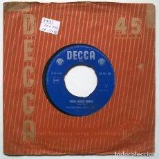 Discos de vinilo: WINIFRED ATWELL. THE BLACK AND WHITE RAG/ CROSS HANDS BOOGIE. DECCA. HOLLAND 1964 SINGLE. Lote 221968263