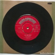 Discos de vinilo: ADAM FAITH. MY LAST WISH/ DON'T YOU KNOW IT? PARLOPHONE, UK 1961 SINGLE. Lote 221976580