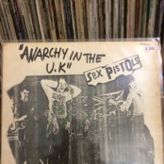 Discos de vinilo: SEX PISTOLS. ANARCHY IN THE UK.. Lote 221978130