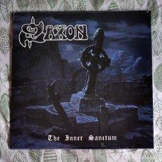 Discos de vinilo: SAXON - THE INNER SANCTUM 12'' LP PRECINTADO - HEAVY METAL. Lote 221978792