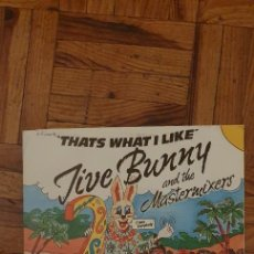 Discos de vinil: JIVE BUNNY AND THE MASTERMIXERS ‎– THAT'S WHAT I LIKE / PRETTY BLUE EYES SELLO: BCM RECORDS ‎– BCM 0. Lote 221980142
