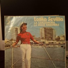 Discos de vinilo: LOLITA SEVILLA - LA ZARZAMORA. Lote 221986053
