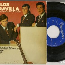 Discos de vinilo: DISCO VINILO. SINGLE. LOS MARAVILLA. SEVILLANAS Y FANDANGOS DE HUELVA. DISCOPHON E.P. 27581. (P/C61). Lote 221987306