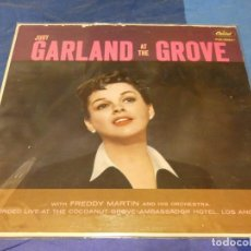 Discos de vinilo: LOTT86 LP USA CA 1966 JUDY GARLAND AND THE GROOVE VINILO IMPECABLE. Lote 221987866