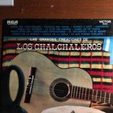 Discos de vinilo: LP LAS GRANDES CREACIONES DE LOS CALCHALEROS. Lote 221988028