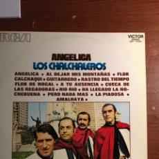 Discos de vinilo: LP LOS CALCHALEROS - ANGÉLICA. Lote 221988207