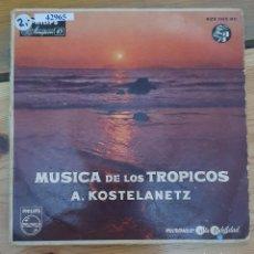 Discos de vinilo: 42965 - MUSICA DE LOS TROPICOS - A. KOSTELANETZ. Lote 221988867