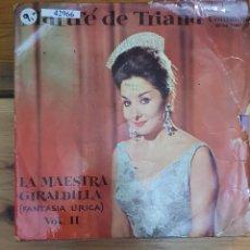 Discos de vinilo: 42966 - MARIFE DE TRIANA LA MAESTRA GIRALDILLA VOL II - DISCOS COLUMBIA - AÑO 1963. Lote 221988960
