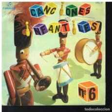 Discos de vinilo: CANCIONES INFANTILES 6 - EP 1964. Lote 221989057