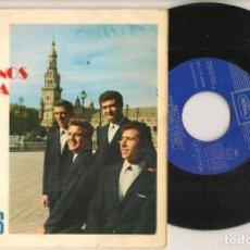 Discos de vinilo: DISCO VINILO. SINGLE. HERMANOS SEVILLA. SEVILLANAS. REGAL- J 016 - 20.174. (P/C61). Lote 221990995