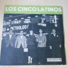 Discos de vinilo: 5 LATINOS. LOS, EP, DIMELO TÚ + 3, AÑO 19?? INDUSTRIA ARGENTINA. Lote 221991092