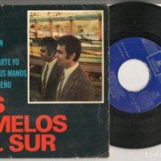 Discos de vinilo: DISCO VINILO. SINGLE. LOS GEMELOS DEL SUR. DONDE VUELAN LOS ÁNGELES. EMI J 016-20.622.(P/C61). Lote 221991103