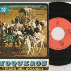 Discos de vinilo: DISCO VINILO. SINGLE. LOS CHOQUEROS. SEVILLANAS DE LOS PUEBLOS. MARTER. M. 20.104. (P/C61). Lote 221991380