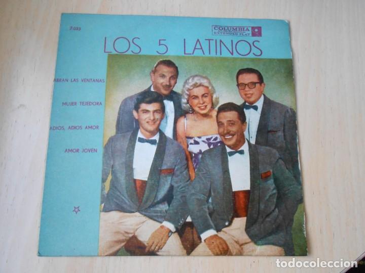 5 LATINOS. LOS, EP, ABRAN LAS VENTANAS + 3, AÑO 19?? INDUSTRIA ARGENTINA (Música - Discos de Vinilo - EPs - Grupos y Solistas de latinoamérica)