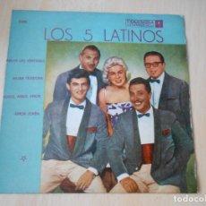 Discos de vinilo: 5 LATINOS. LOS, EP, ABRAN LAS VENTANAS + 3, AÑO 19?? INDUSTRIA ARGENTINA. Lote 221991395