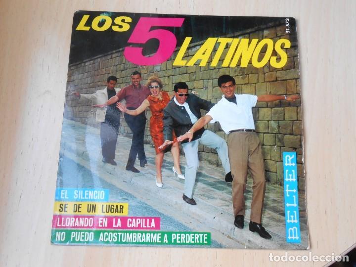 5 LATINOS. LOS, EP, SE DE UN LUGAR (I KNOW A PLACE) + 3, AÑO 1965 (Música - Discos de Vinilo - EPs - Grupos y Solistas de latinoamérica)
