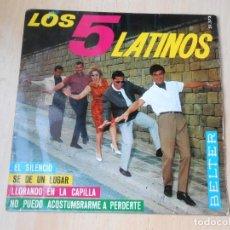 Discos de vinilo: 5 LATINOS. LOS, EP, SE DE UN LUGAR (I KNOW A PLACE) + 3, AÑO 1965. Lote 221991903