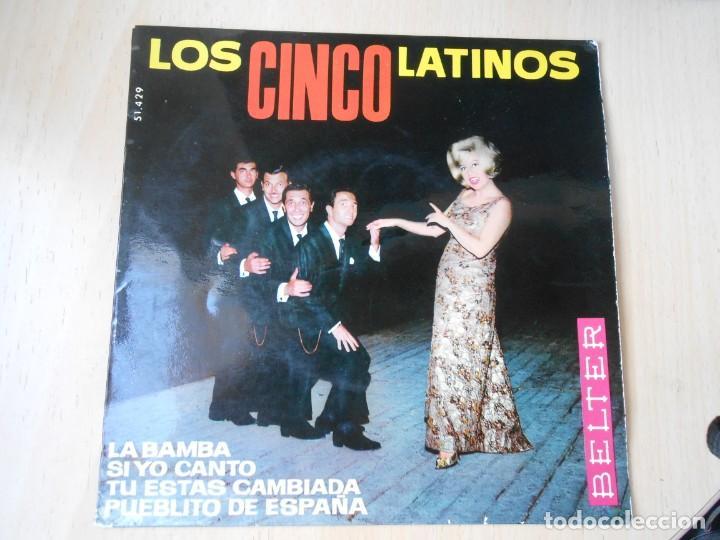 CINCO LATINOS. LOS, EP, LA BAMBA + 3, AÑO 1964 (Música - Discos de Vinilo - EPs - Grupos y Solistas de latinoamérica)