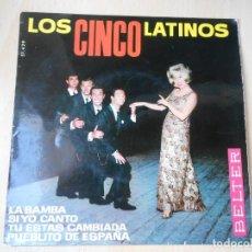 Discos de vinilo: CINCO LATINOS. LOS, EP, LA BAMBA + 3, AÑO 1964. Lote 221992311
