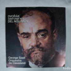 Discos de vinilo: ANTON DVORAK - SIMFONIA Nº 9 DEL NOU MON - GEORGE SZELL -CLEVELAND ORCHESTRA- 1980-CBS. Lote 221993700