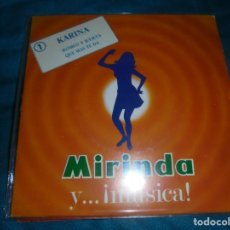 Discos de vinilo: KARINA. ROMEO Y JULIETA / QUE MAS TE DA. MIRINDA PROMOCIONAL, 1969. Lote 221998456