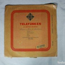 Discos de vinilo: ALEGRIAS Y PENAS DE ANDALUCIA LP LOPEZ TEJERA- LUIS MARAVILLA Y PEPE VALENCIA. Lote 221998821