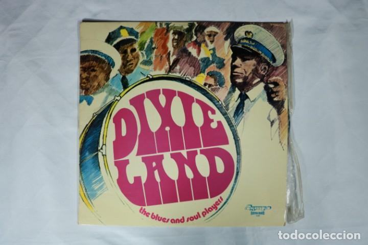 THE BLUES AND SOUL PLAYERS DIXIE LAND DIXIELAND LP 1972 OLYMPO ESPAÑA SPAIN EX (Música - Discos - LP Vinilo - Jazz, Jazz-Rock, Blues y R&B)