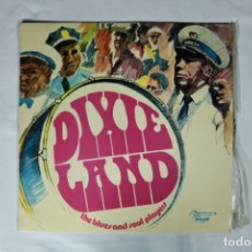 Discos de vinilo: THE BLUES AND SOUL PLAYERS DIXIE LAND DIXIELAND LP 1972 OLYMPO ESPAÑA SPAIN EX. Lote 222000278