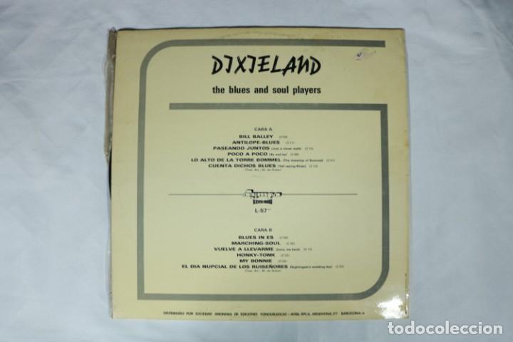 Discos de vinilo: THE BLUES AND SOUL PLAYERS Dixie Land Dixieland LP 1972 Olympo ESPAÑA SPAIN EX - Foto 2 - 222000278