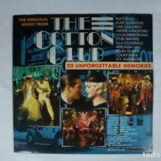 Discos de vinilo: BSO / BANDA SONORA ORIGINAL - THE COTTON CLUB LP DE SELLO BIG BAND ERA EDICION ALEMAN DEL AÑO 1985. Lote 222001935