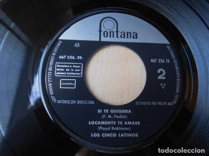 Discos de vinilo: CINCO LATINOS,LOS, EP, INSEPARABLES + 3, AÑO 1962 - Foto 4 - 222002540