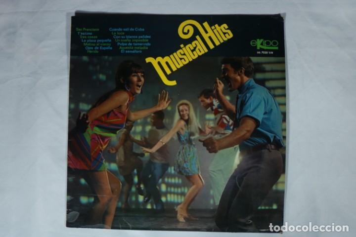 LP - MUSICAL HITS - LUIS LUCENA , MARTA SEYES , LOS VIKINGOS... - PRÁCTICAMENTE NUEVO - EKIPO 1968 (Música - Discos - LP Vinilo - Grupos Españoles 50 y 60)
