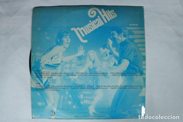 Discos de vinilo: LP - MUSICAL HITS - LUIS LUCENA , MARTA SEYES , LOS VIKINGOS... - PRÁCTICAMENTE NUEVO - EKIPO 1968 - Foto 2 - 222003840