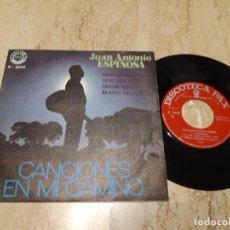 Discos de vinilo: JUN ANTONIO ESPINOSA-XIAN POP CRISTIANO-CANCIONES EN MI CAMINO-EP-1971-. Lote 222003847