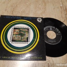 Discos de vinilo: EXPERIMENTO -CRUCIFIXION ( AUTE)+3-XIAN POP CRISTIANO-1970 EXCELENTE ESTADO. Lote 222004966