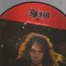 Discos de vinilo: DIO WHERE EAGLES. Lote 222006602