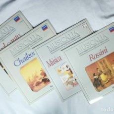 Discos de vinilo: LOTE DE 4 LPS DE MÚSICA CLÁSICA - MUSICALIA - LOS MIL MEJORES FRAGMENTOS DE LA MÚSICA CLÁSICA. Lote 222009850